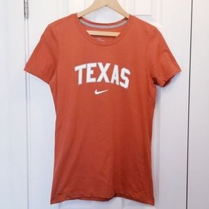 Nike Texas Longhorns Ladies Slim Fit T-shirt
